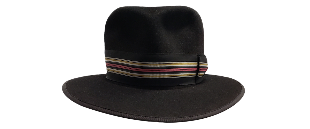 10x Black Fedora Pink Gold Gray Ribbon 0000 20200814 104853