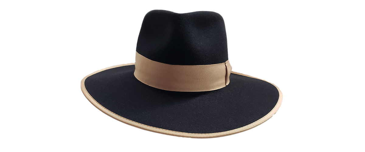 30x Black Fedora Tan Ribbon 0000 20200814 105205