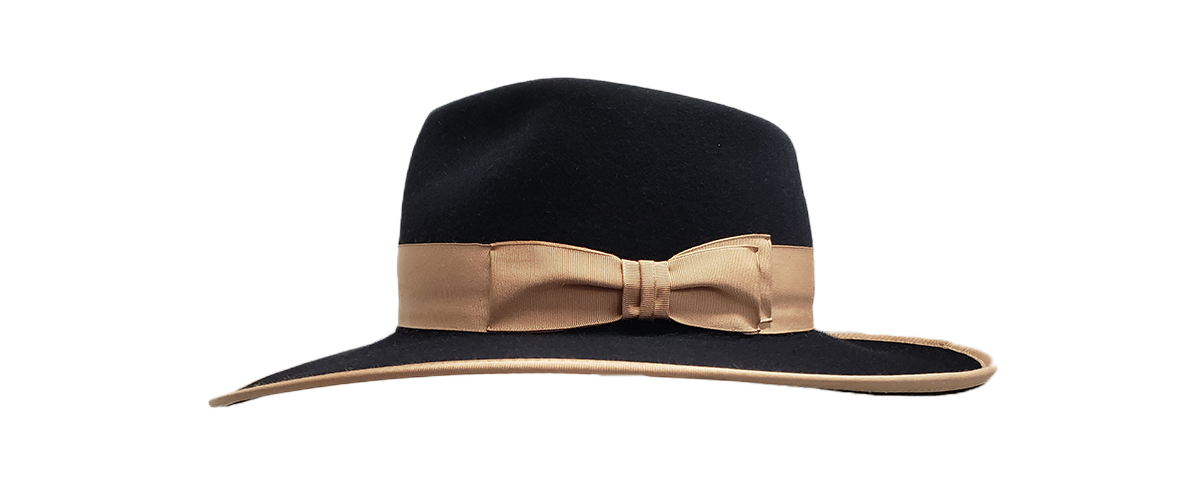 30x Black Fedora Tan Ribbon 0001 20200814 105219