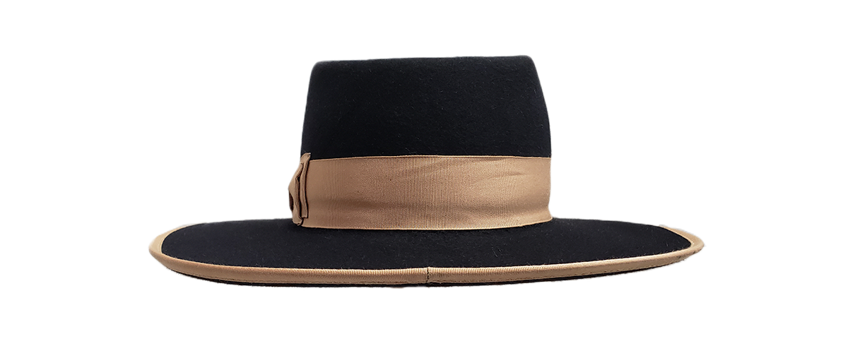 30x Black Fedora Tan Ribbon 0002 20200814 105235