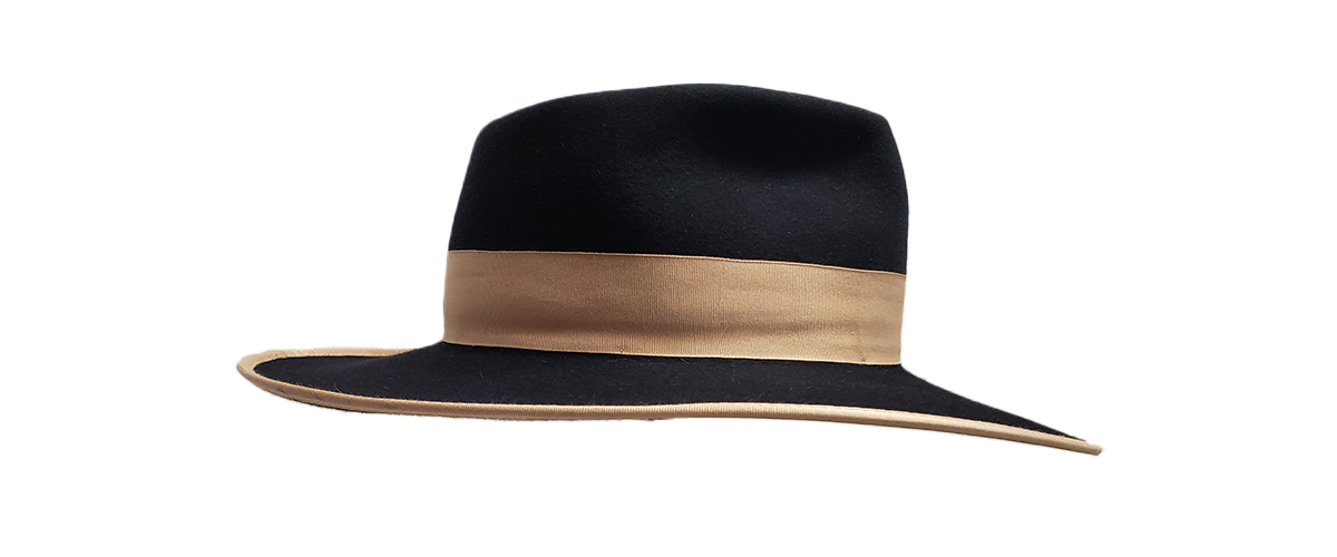30x Black Fedora Tan Ribbon 0003 20200814 105244