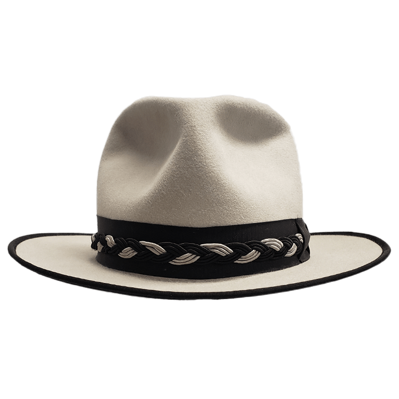 30x Fedora Silverbelly With Brocade Band Thumbnail