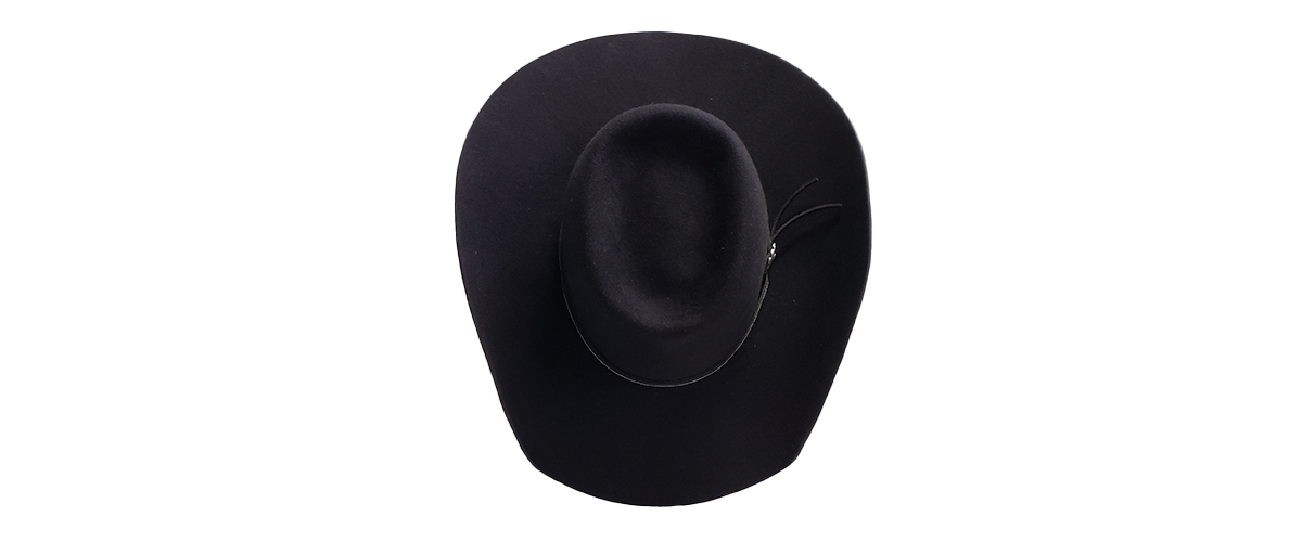 8 Seconds Black Band 0008 JWCustomHats 8Seconds Jan2021 7